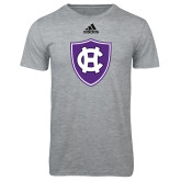 Adidas Sport Grey Logo T Shirt-HC Shield