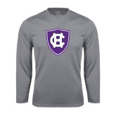 Performance Steel Longsleeve Shirt-HC Shield