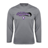 Syntrel Performance Steel Longsleeve Shirt-Hockey Puck Design