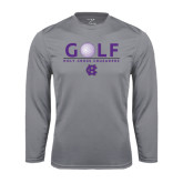Syntrel Performance Steel Longsleeve Shirt-Golf Ball Design