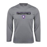 Syntrel Performance Steel Longsleeve Shirt-Track and Field Design