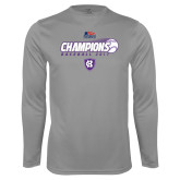 Syntrel Performance Steel Longsleeve Shirt-2017 Patriot League Mens Champions Baseball