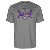 Syntrel Performance Steel Tee-2017 Patriot League Mens Champions Baseball