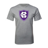 Grey T Shirt-HC Shield