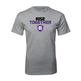 Grey T Shirt-Rise Together