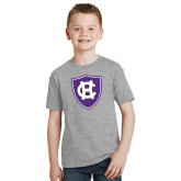 Youth Grey T Shirt-HC Shield