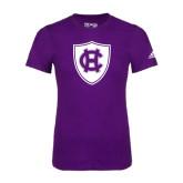 Adidas Purple Logo T Shirt-HC Shield