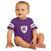 Vintage Purple Jersey Onesie-HC Shield