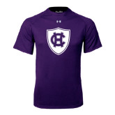 Under Armour Purple Tech Tee-HC Shield