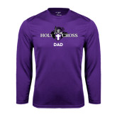 Syntrel Performance Purple Longsleeve Shirt-Dad