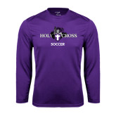 Syntrel Performance Purple Longsleeve Shirt-Soccer