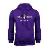 Purple Fleece Hood-Grandpa