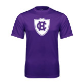 Performance Purple Tee-HC Shield