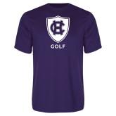 Performance Purple Tee-Golf