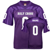 Replica Purple Adult Football Jersey-Basketball-Football Jerseys
