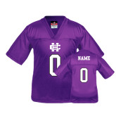 Youth Replica Purple Football Jersey-Personalized