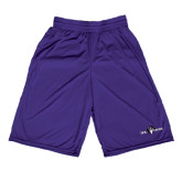 Performance Classic Purple 9 Inch Short-Official Logo