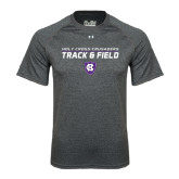 Under Armour Carbon Heather Tech Tee-Track and Field Design