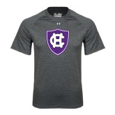 Under Armour Carbon Heather Tech Tee-HC Shield