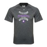 Under Armour Carbon Heather Tech Tee-Softball Stitches