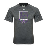 Under Armour Carbon Heather Tech Tee-Soccer Shield Design