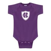 Purple Infant Onesie-HC Shield