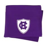 Purple Sweatshirt Blanket-HC Shield