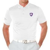 Callaway Opti Vent White Polo-HC Shield