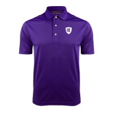 Purple Dry Mesh Polo-HC Shield
