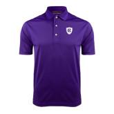 Purple Dry Mesh Polo-HC Shield