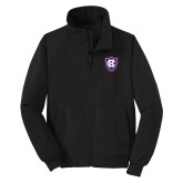 Black Charger Jacket-HC Shield