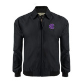 Black Players Jacket-Interlocking HC
