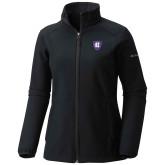 Columbia Ladies Sweet As Black Hooded Jacket-HC Shield