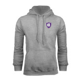 Grey Fleece Hood-HC Shield