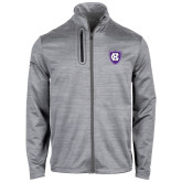 Callaway Stretch Performance Heather Grey Jacket-HC Shield