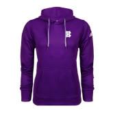 Adidas Climawarm Purple Team Issue Hoodie-Interlocking HC