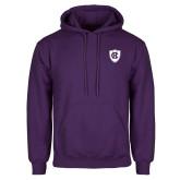 Purple Fleece Hoodie-HC Shield