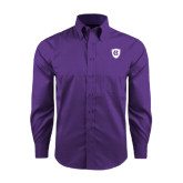 Red House Purple Long Sleeve Shirt-HC Shield