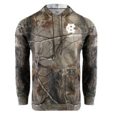 Realtree Camo Fleece Hoodie-Interlocking HC