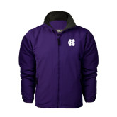 Purple Survivor Jacket-Interlocking HC