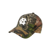 Mossy Oak Camo Structured Cap-Interlocking HC