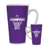 Full Color Latte Mug 17oz-2016 Patriot League Mens Champions Basketball