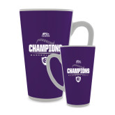 Full Color Latte Mug 17oz-2017 Patriot League Mens Champions Baseball