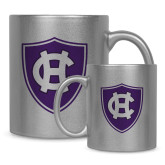 Full Color Silver Metallic Mug 11oz-HC Shield