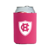 Collapsible Hot Pink Can Holder-HC Shield
