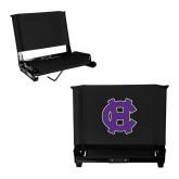 Stadium Chair Black-Interlocking HC