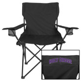 Deluxe Black Captains Chair-HC Shield