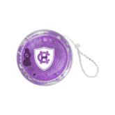 Light Up Purple YoYo-HC Shield