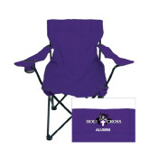 Deluxe Purple Captains Chair-Alumni
