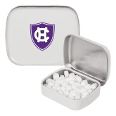 White Rectangular Peppermint Tin-HC Shield